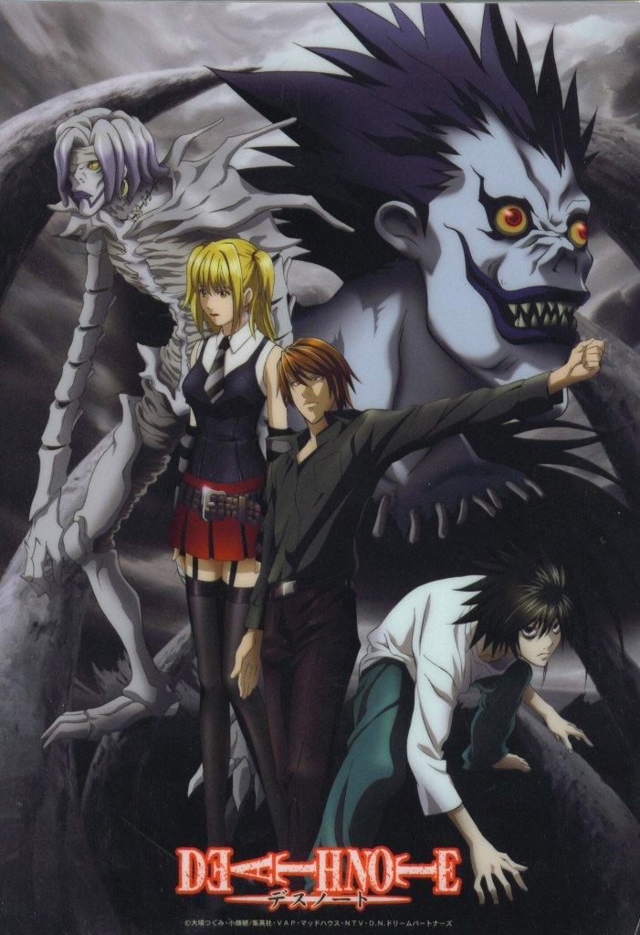 poesie nei manga death note