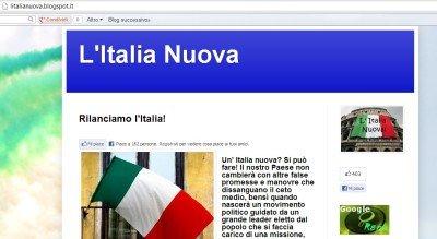 italia nuova, il blog sulla politica