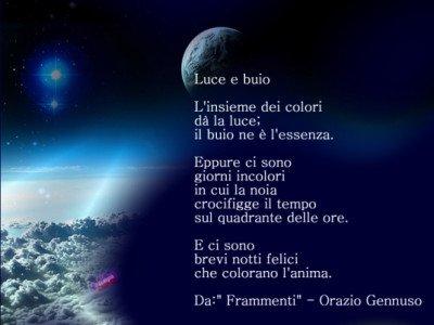 poesia orazio gennuso