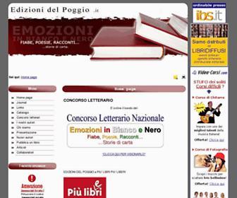 edizioni del poggio concorso letterario gratis