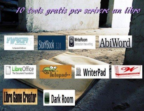 10 tools gratis per scrivere un libro for Che programma usare per scrivere un libro