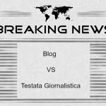differenza tra blog e testata giornalistica