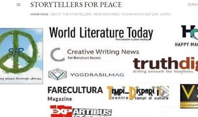 storyteller for peace